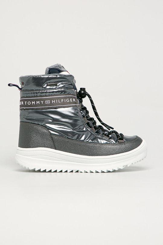 argintiu Tommy Hilfiger - Cizme de iarna copii De fete