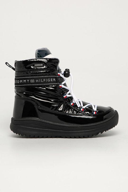 negru Tommy Hilfiger - Cizme de iarna copii De fete