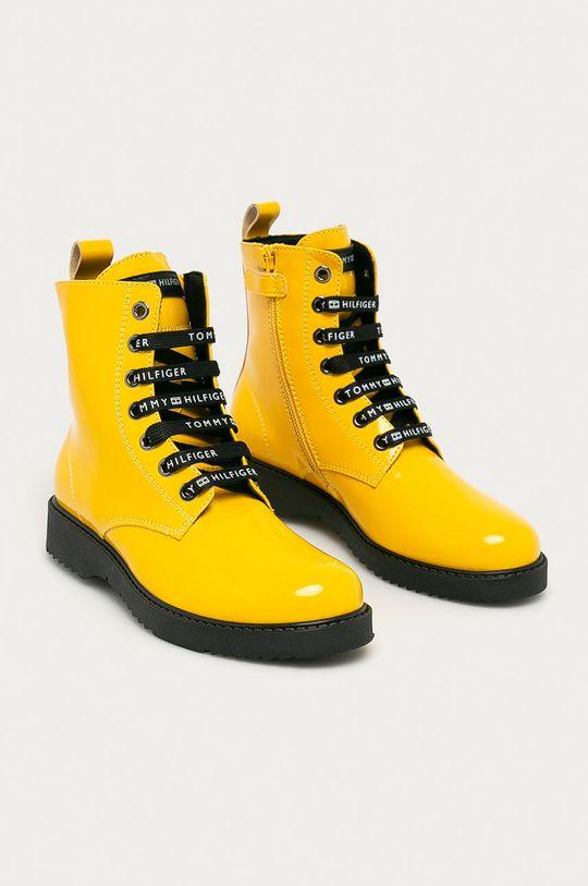 Tommy Hilfiger - Workery dziecięce żółty