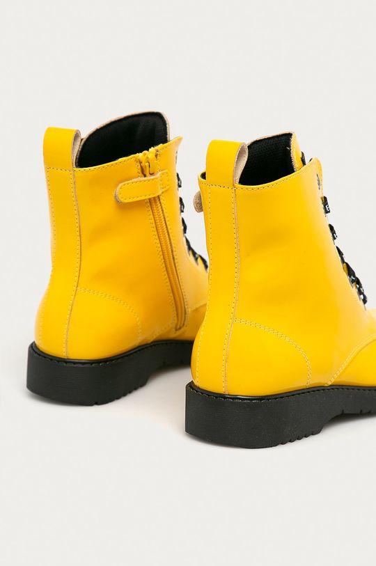 żółty Tommy Hilfiger - Workery dziecięce