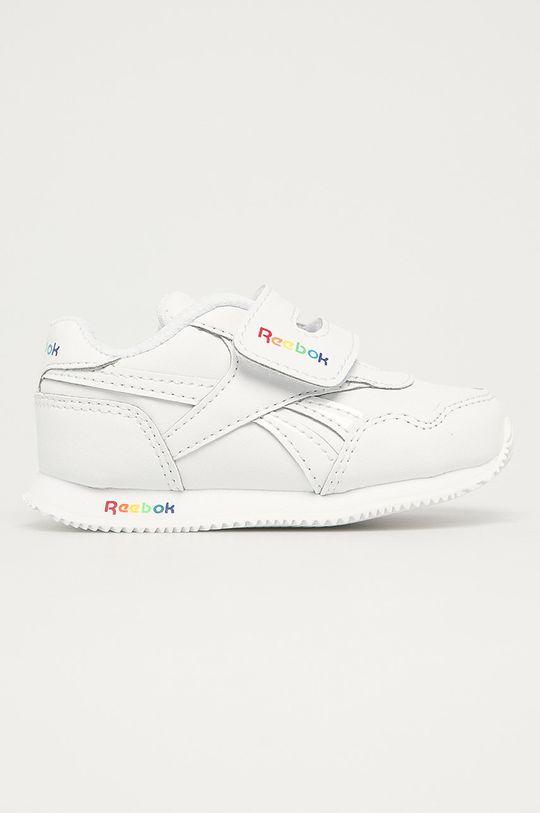 biela Reebok Classic - Detské topánky Royal Cljog 3 Dievčenský