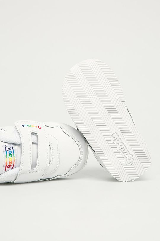 biela Reebok Classic - Detské topánky Royal Cljog 3