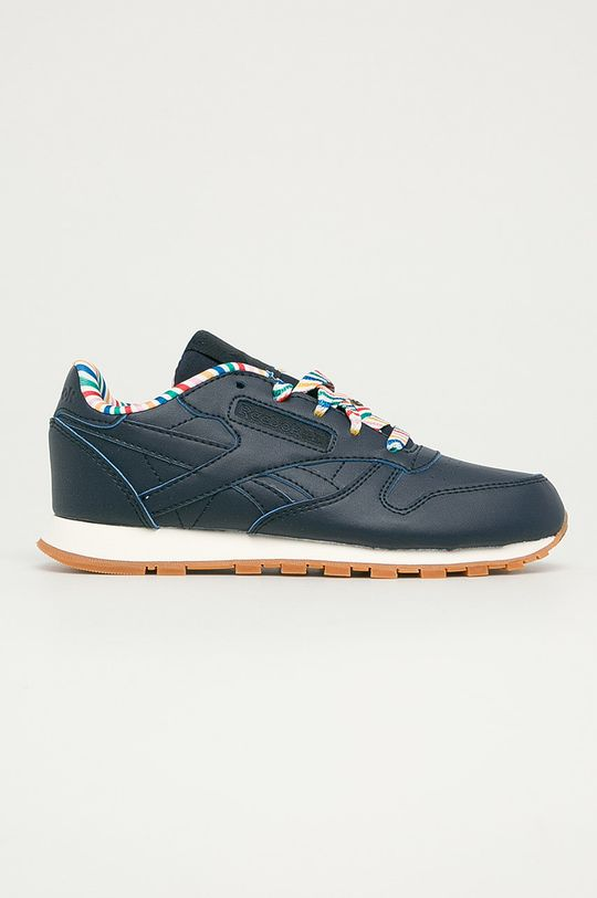 bleumarin Reebok Classic - Pantofi copii Cl Lthr Txt De fete