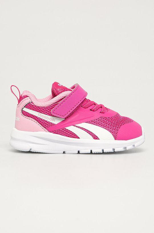 sýto ružová Reebok - Detské topánky Rush Runner 3.0 Dievčenský