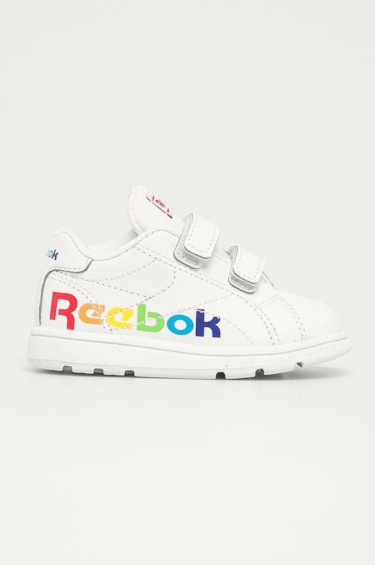 alb Reebok Classic - Pantofi copii RBK Royal Complete CLN 2. De fete