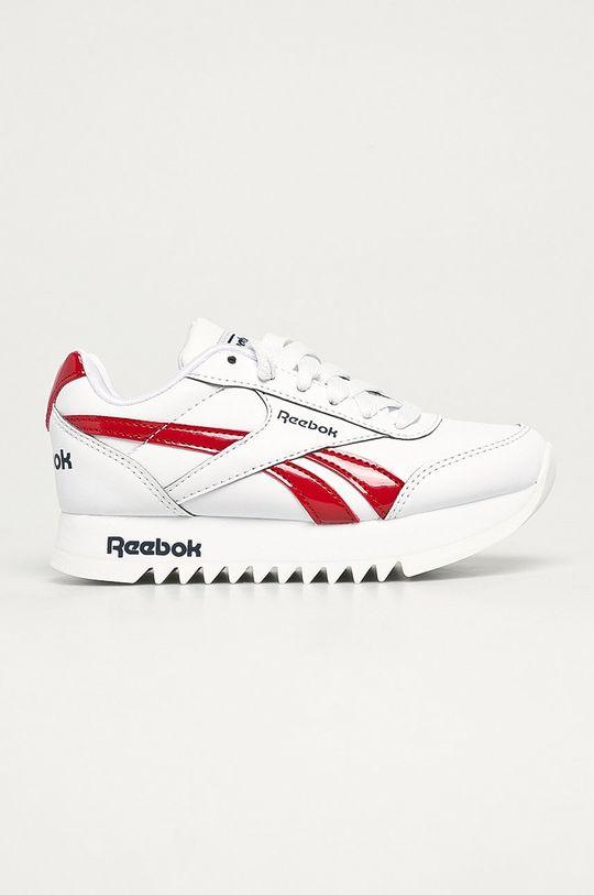 biela Reebok Classic - Detské topánky Royal CLJOG 2 Dievčenský