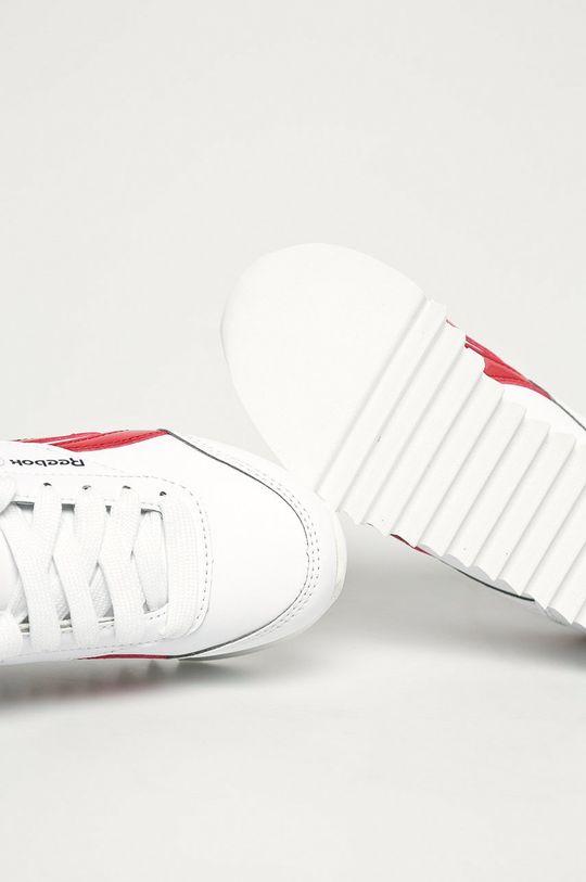 biela Reebok Classic - Detské topánky Royal CLJOG 2