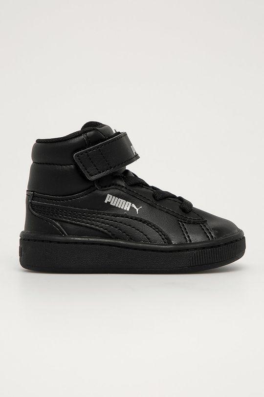 negru Puma - Pantofi copii Vikky v2 Mid SL De fete
