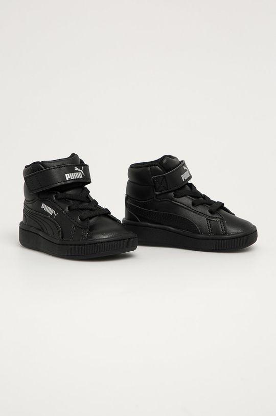 Puma - Pantofi copii Vikky v2 Mid SL negru