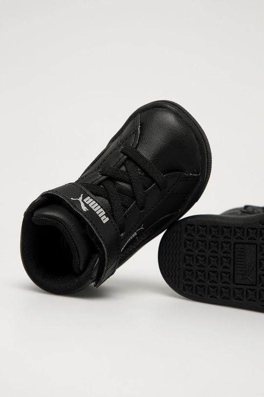 negru Puma - Pantofi copii Vikky v2 Mid SL