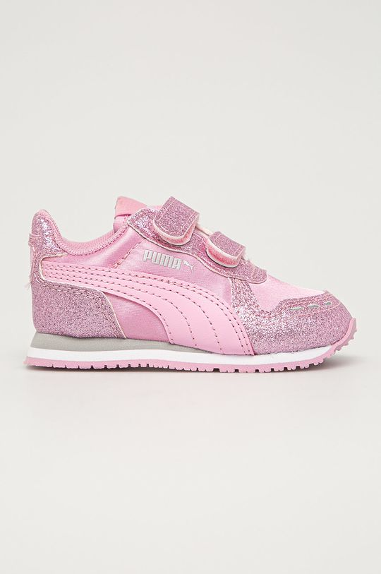 roz murdar Puma - Pantofi copii Cabana Racer Glitz V De fete