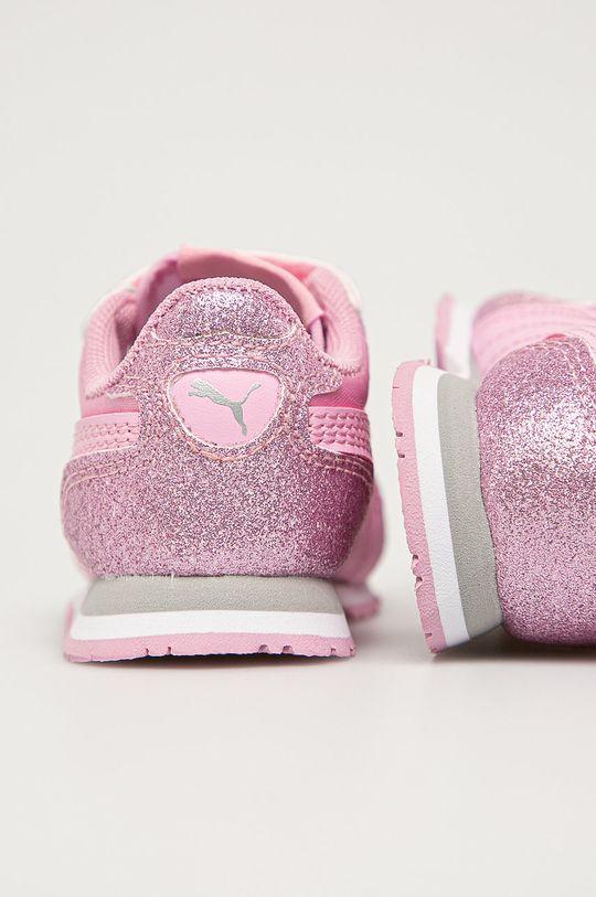 Puma - Pantofi copii Cabana Racer Glitz V  Gamba: Material sintetic, Material textil Interiorul: Material textil Talpa: Material sintetic