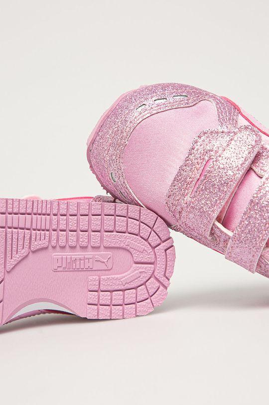 roz murdar Puma - Pantofi copii Cabana Racer Glitz V