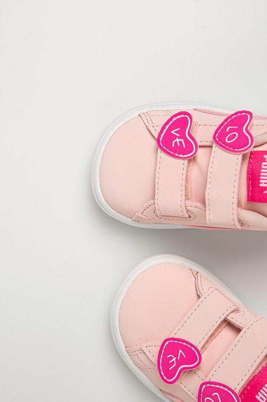 roz pastelat Puma - Pantofi copii Smash v2 Cndy