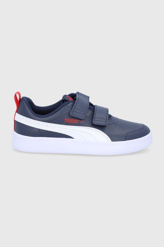 bleumarin Puma - Pantofi copii Courtflex v2 V PS De fete