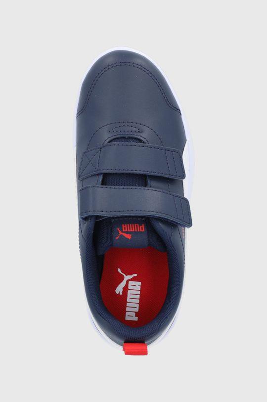 bleumarin Puma - Pantofi copii Courtflex v2 V PS