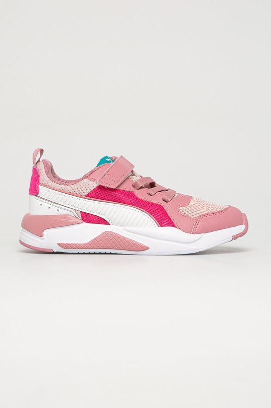 staroružová Puma - Detské topánky X-Ray AC PS Dievčenský