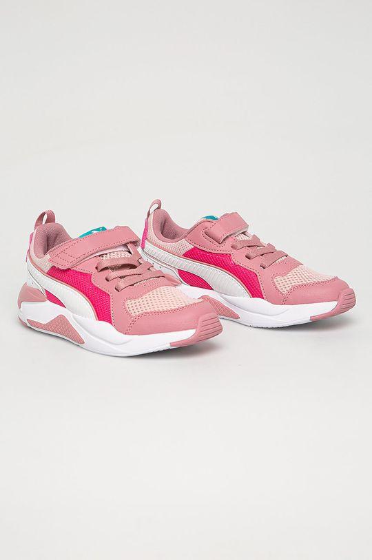 Puma - Detské topánky X-Ray AC PS staroružová