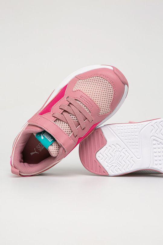 staroružová Puma - Detské topánky X-Ray AC PS