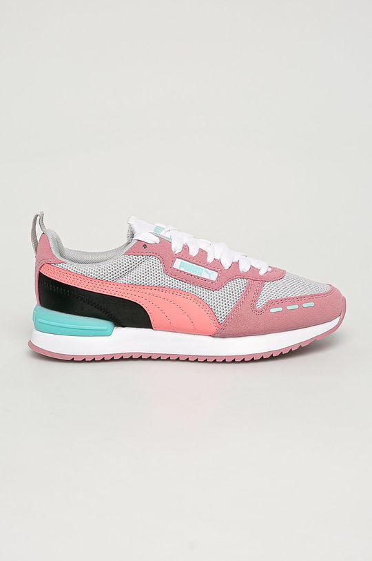 roz murdar Puma - Pantofi copii R78 De fete