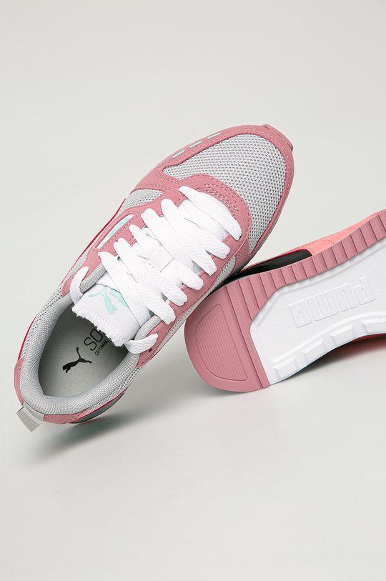 roz murdar Puma - Pantofi copii R78