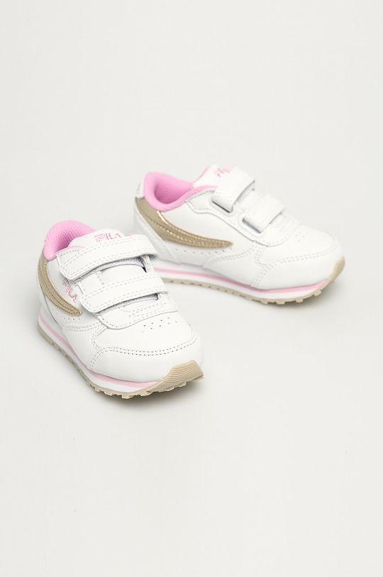 Fila - Buty dziecięce Orbit Velcro Infants biały