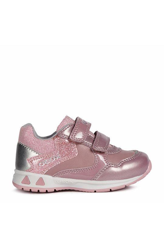 růžová Geox - Dětské boty Dívčí