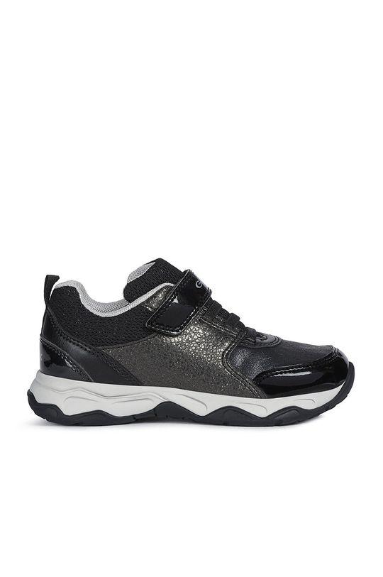 černá Geox - Dětské boty Dívčí