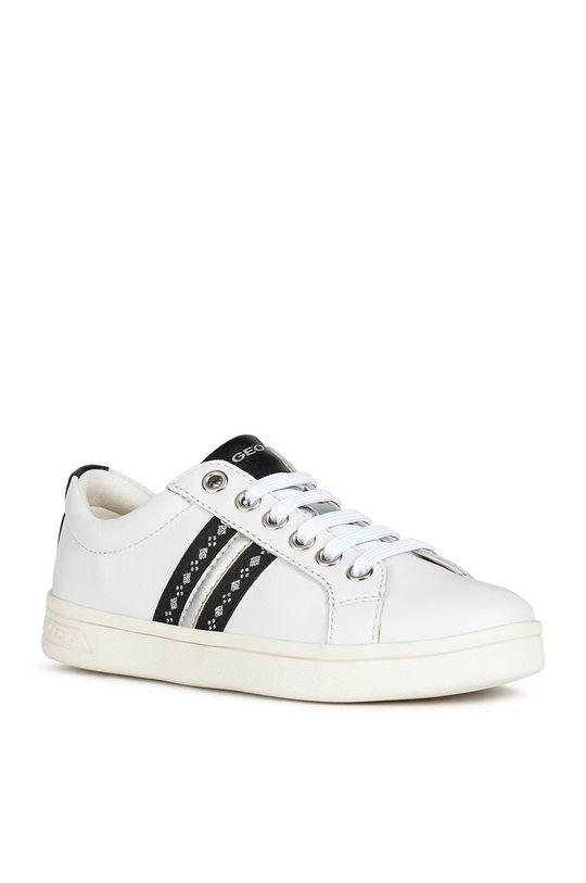 Geox - Dětské boty bílá