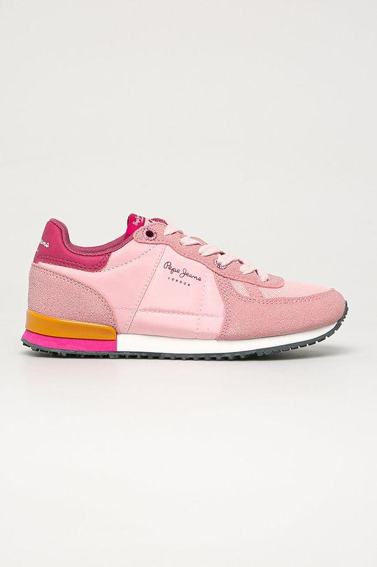 roz Pepe Jeans - Pantofi copii Sydney De fete
