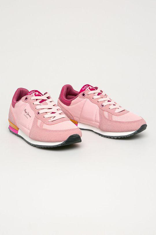 Pepe Jeans - Pantofi copii Sydney roz