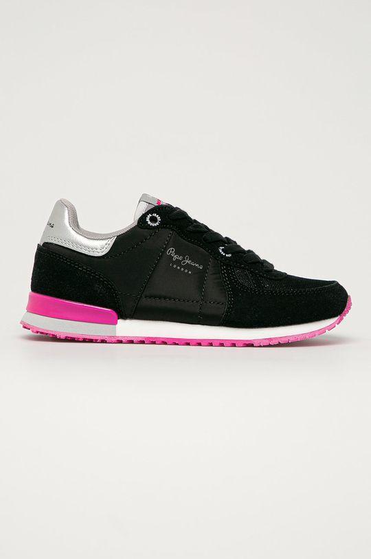 negru Pepe Jeans - Pantofi copii Sydney De fete