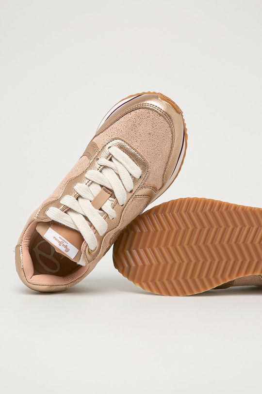 roz murdar Pepe Jeans - Pantofi copii Rusper Junior Metal