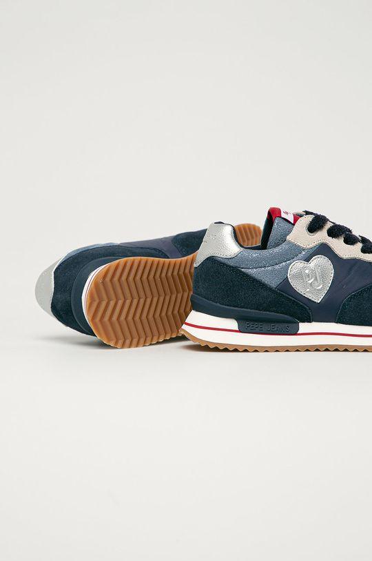 Pepe Jeans - Pantofi copii Rusper  Gamba: Material textil, Piele intoarsa Interiorul: Material textil Talpa: Material sintetic