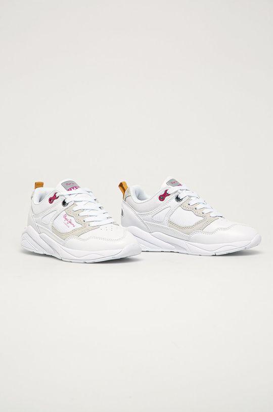 Pepe Jeans - Pantofi copii Orbital alb