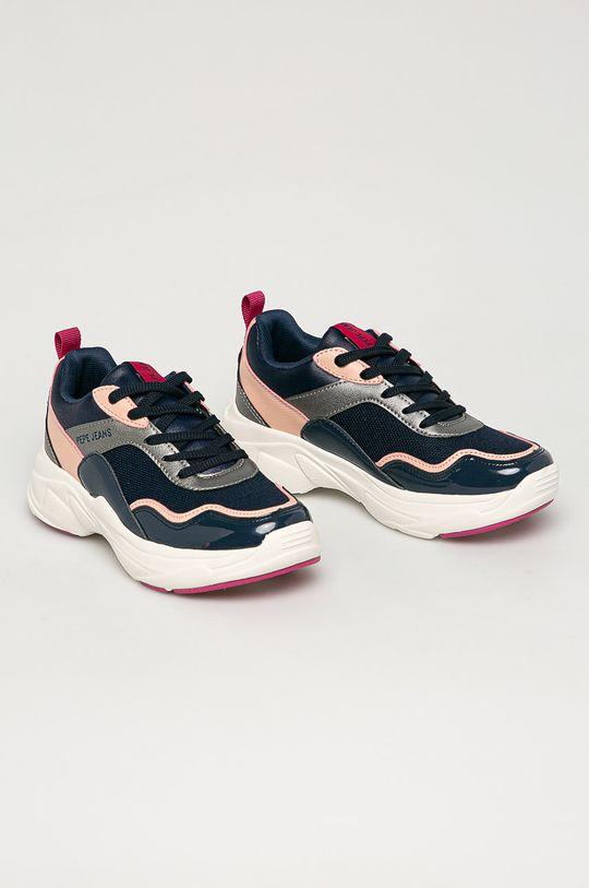 Pepe Jeans - Dětské boty Sinyu námořnická modř