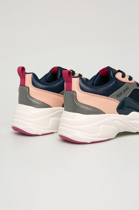Pepe Jeans - Dětské boty Sinyu  Svršek: Umělá hmota, Textilní materiál Vnitřek: Textilní materiál Podrážka: Umělá hmota