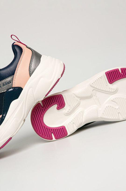 námořnická modř Pepe Jeans - Dětské boty Sinyu