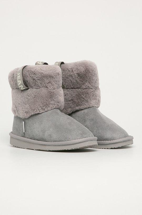 Pepe Jeans - Cizme de iarna copii Angel Plush gri