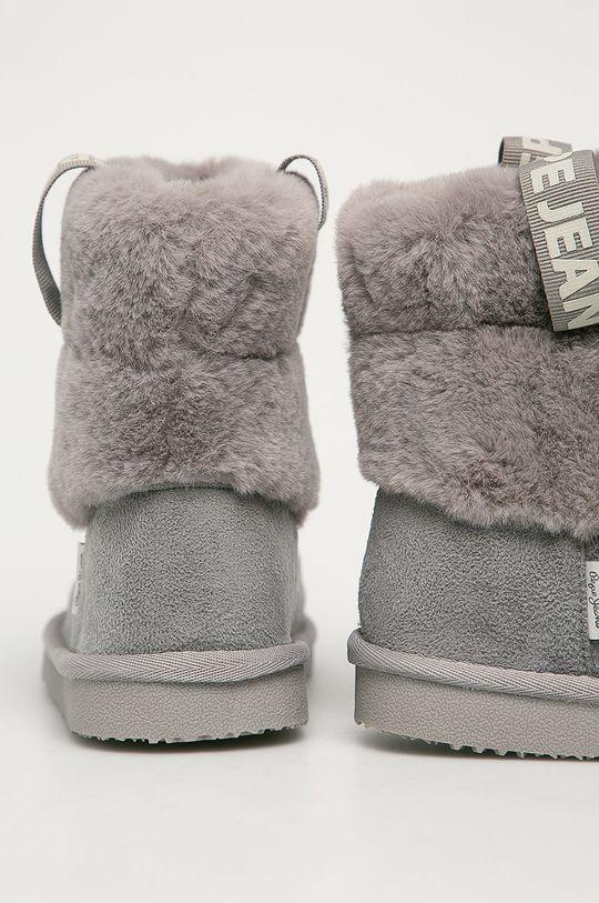 Pepe Jeans - Cizme de iarna copii Angel Plush  Gamba: Material textil Interiorul: Material textil Talpa: Material sintetic
