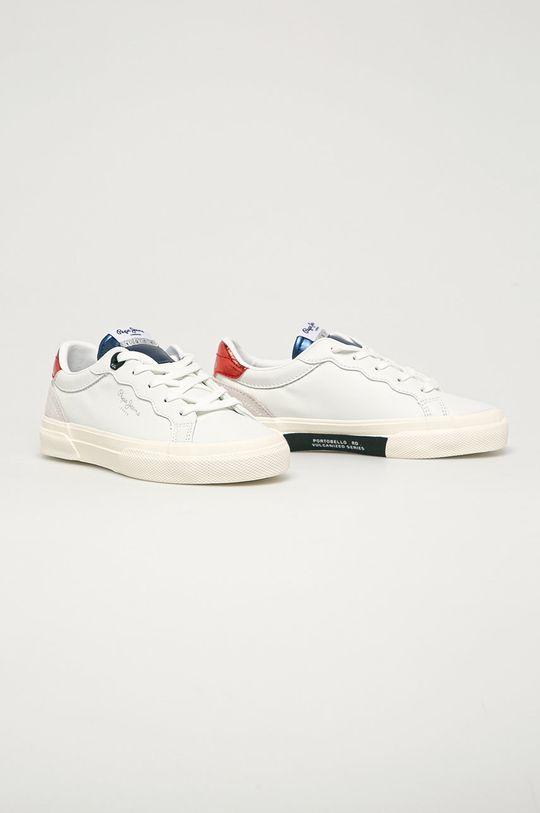 Pepe Jeans - Pantofi copii Kenton Classic alb