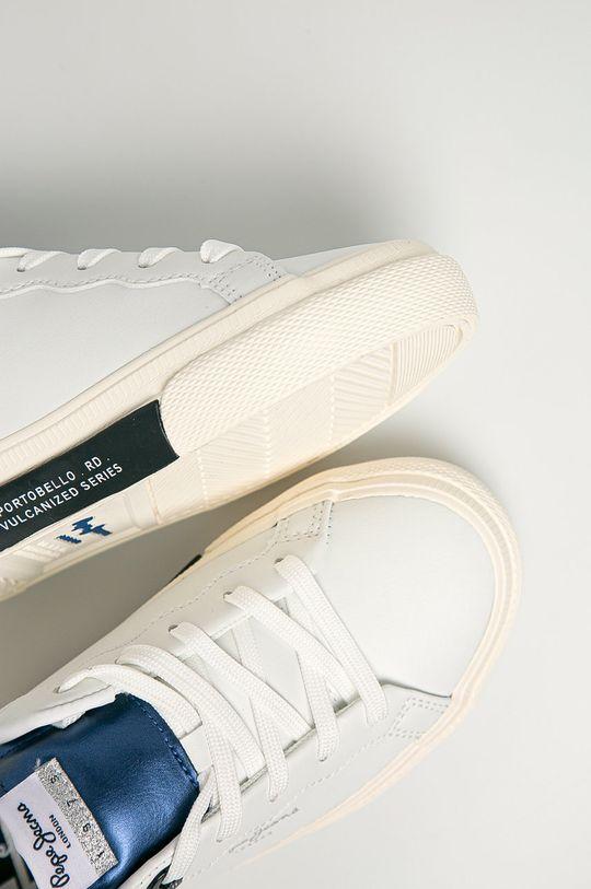 alb Pepe Jeans - Pantofi copii Kenton Classic