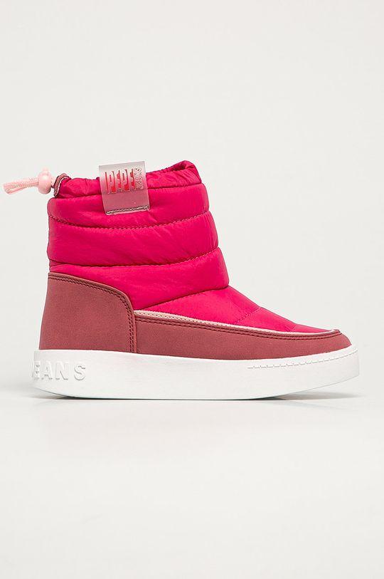 roz ascutit Pepe Jeans - Cizme de iarna copii Brixton De fete