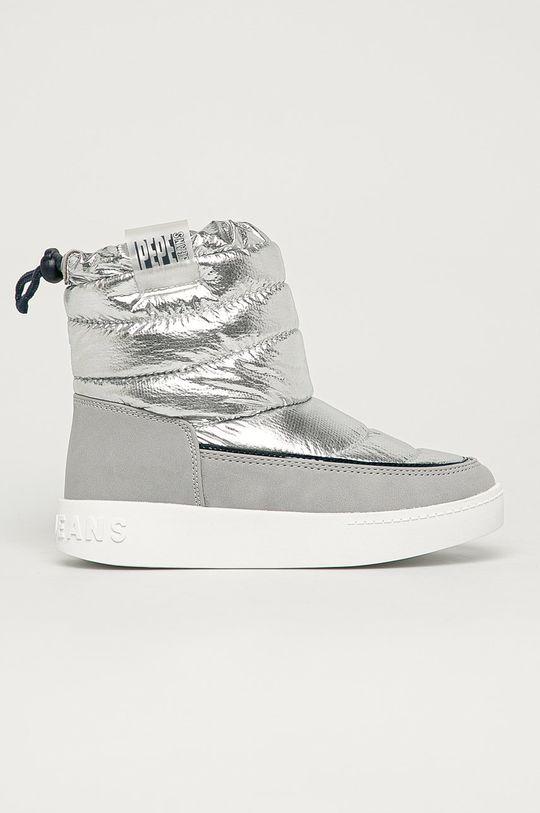 argintiu Pepe Jeans - Cizme de iarna copii Brixton De fete