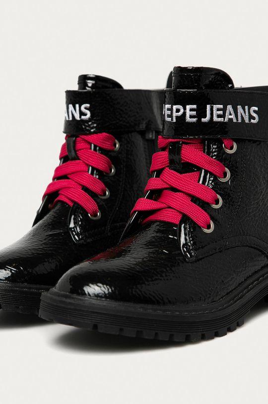 Pepe Jeans - Workery dziecięce Hatton Velcro Dziewczęcy