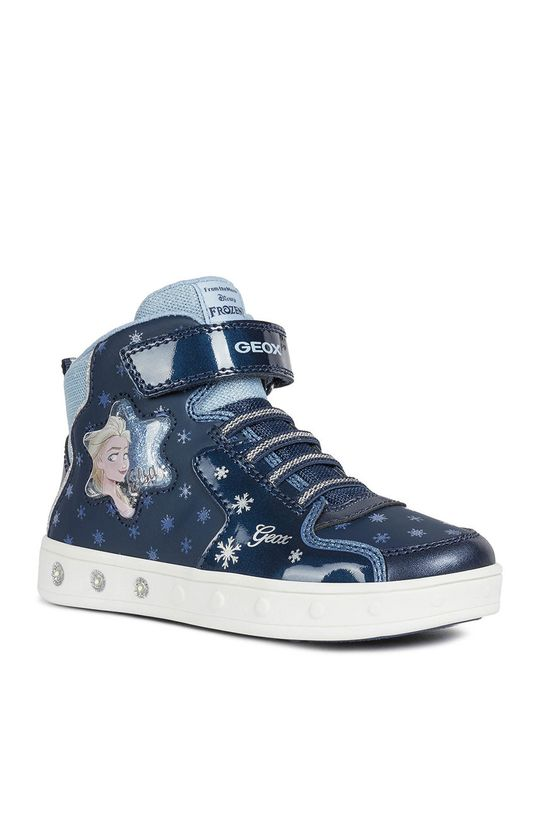 Geox - Detské topánky Disney Frozen  Zvršok: Syntetická látka, Textil Vnútro: Textil, Koža Podrážka: Syntetická látka