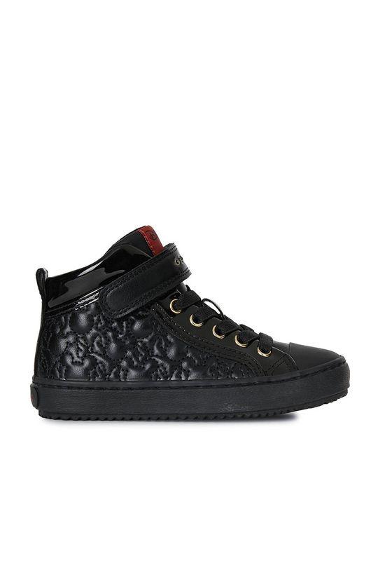чорний Geox - Дитячі черевики Для дівчаток