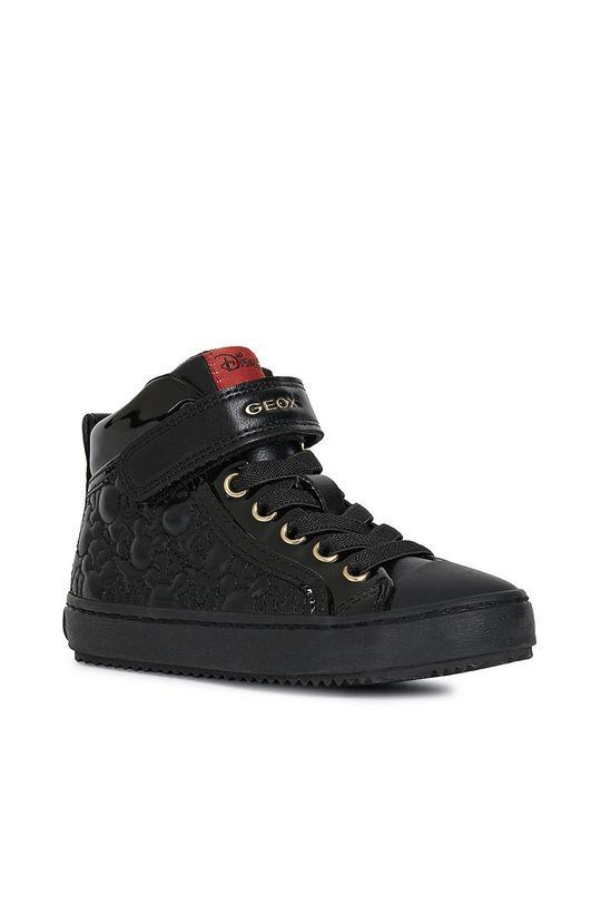 Geox - Дитячі черевики чорний