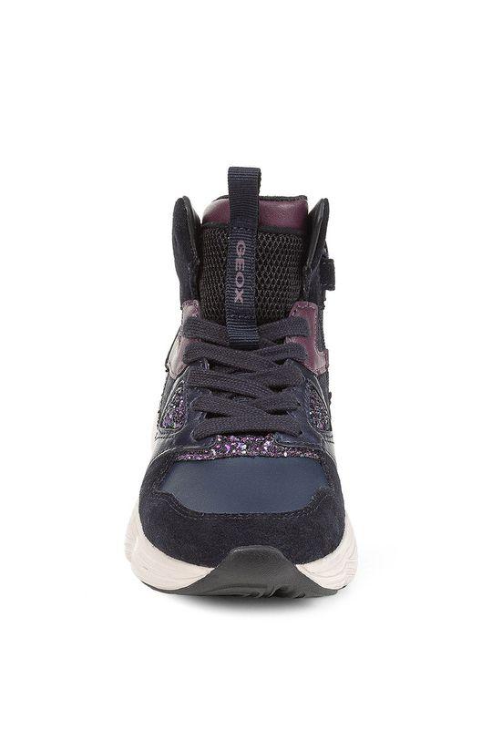 Geox - Dětské boty  Svršek: Umělá hmota, Semišová kůže Vnitřek: Textilní materiál Podrážka: Umělá hmota Vložka: Přírodní kůže
