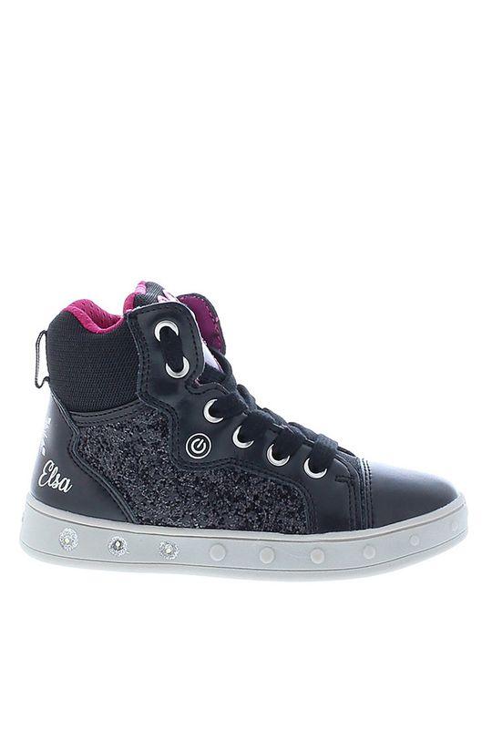 czarny Geox - Buty dziecięce Dziewczęcy
